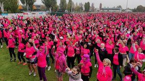 Nancy : plus de 5 000 participants en rose pour Octobre Rose