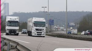 Info trafic : accident et ralentissement sur l'A31 à Champigneulles