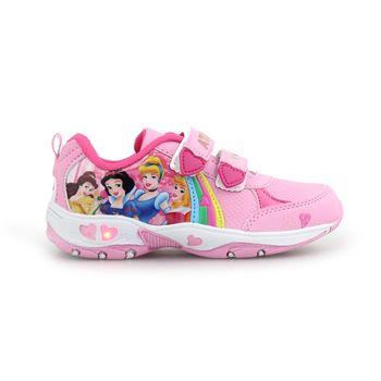 Παιδικά αθλητικά με πριγκίπισσες και φωτάκια Ροζ/Φούξια