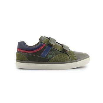 Παιδικά sneakers με αυτοκόλλητα και λεπτομέρειες Πράσινο