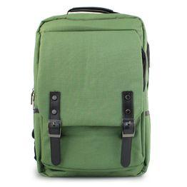 Ανδρικά σακίδια πλάτης με διπλούς τοκάδες Πράσινο