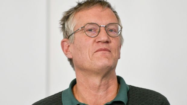 Sweden's state epidemiologist Anders Tegnell. Photograph: Anders Wiklund/TT News Agency/AFP via Getty Images