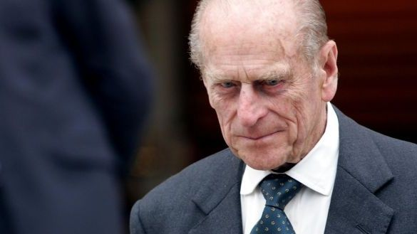 Prince Philip at Government Buildings, Dublin, in 2006. Photograph: Eric Luke