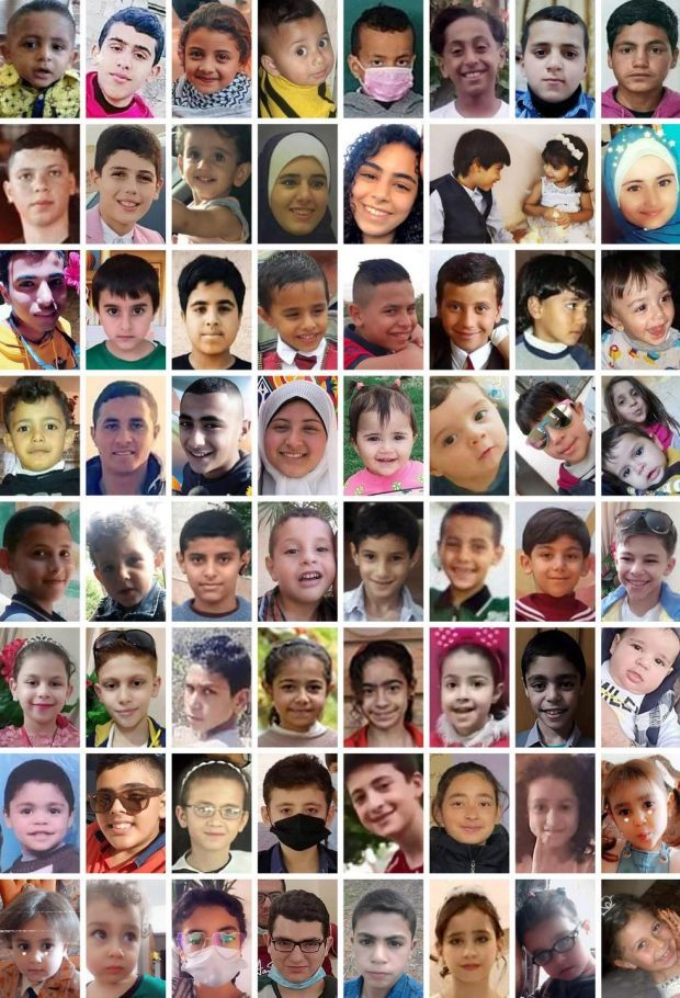 During 11 days of fighting between Israel and Hamas, at least 66 children under age 18 were killed in Gaza and two in Israel. Photograph: New York Times