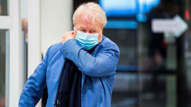 Virologist Jaap van Dissel, chair of the Dutch government's Outbreak Management Team. Photograph: Jeroen Jumelet/ANP/AFP via Getty Images