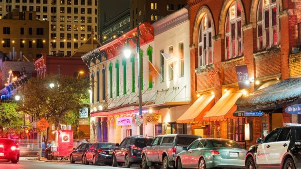 Sixth Street is a downtown entertainment district in Austin, Texas. File photograph: iStock