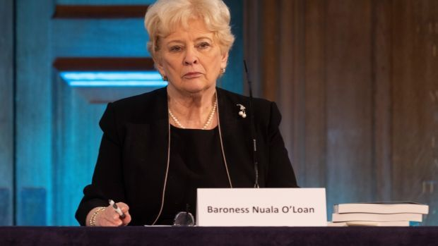 Chair of the Daniel Morgan Independent Panel, Baroness Nuala O'Loan said the police had displayed 'institutional corruption'. Photograph: Dan Kitwood/Getty Images