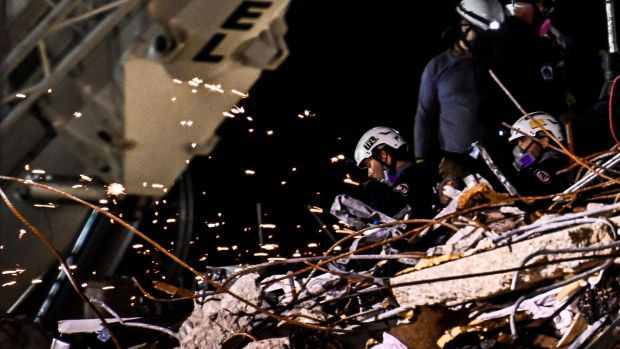The search for more than 140 people unaccounted for has entered its seventh day. Photograph: Chandan Khanna/AFP/Getty Images.