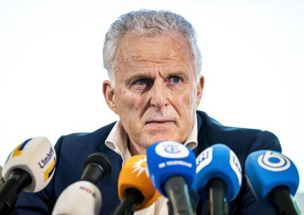 Peter R de Vries addresses a press conference. File photograph: Remko de Waal/ANP/AFP via Getty