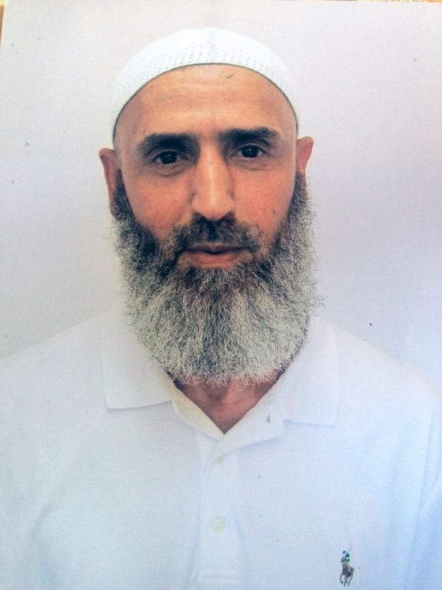 Abdul Latif Nasser, a Moroccan who has been held at Guantanamo Bay since May 2002. Photograph: International Red Cross via The New York Times