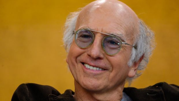"""Larry David: """"When he told me I was eighty-sixed from the party, I was so relieved I screamed, 'Thank you! Thank you!' He must have thought I was insane."""" Photograph: Getty Images"""