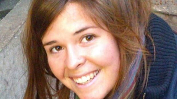 Kayla Mueller (26), an American humanitarian worker from Prescott, Arizona, who was killed in 2015 while in Islamic State custody. Photograph: Mueller family via Reuters