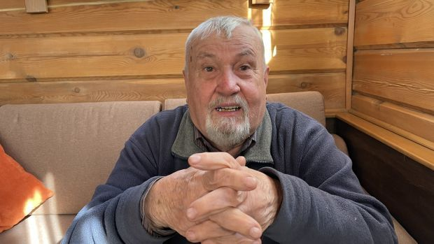 Scientist Alexander Suturin has studied Lake Baikal for decades as a senior member of the Limnological Institute of the Russian Academy of Sciences in Siberia