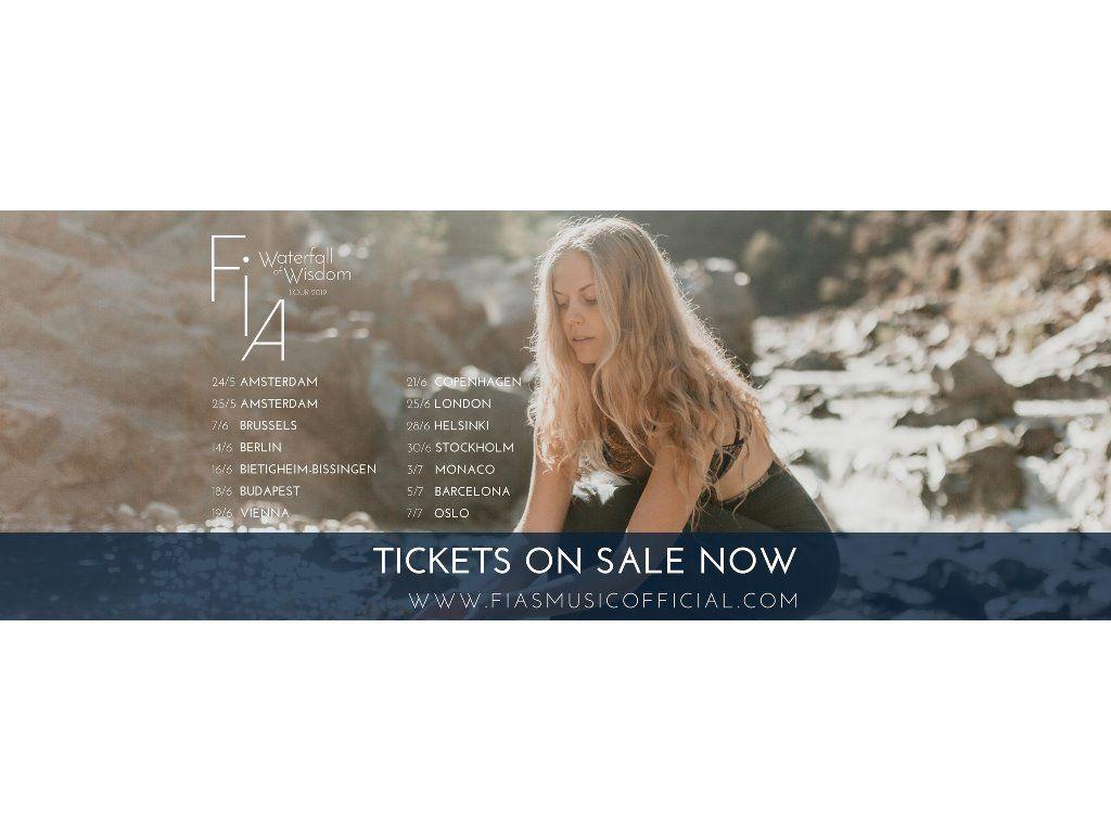 Fia Live Budapest - Waterfall of Wisdom Tour 2019