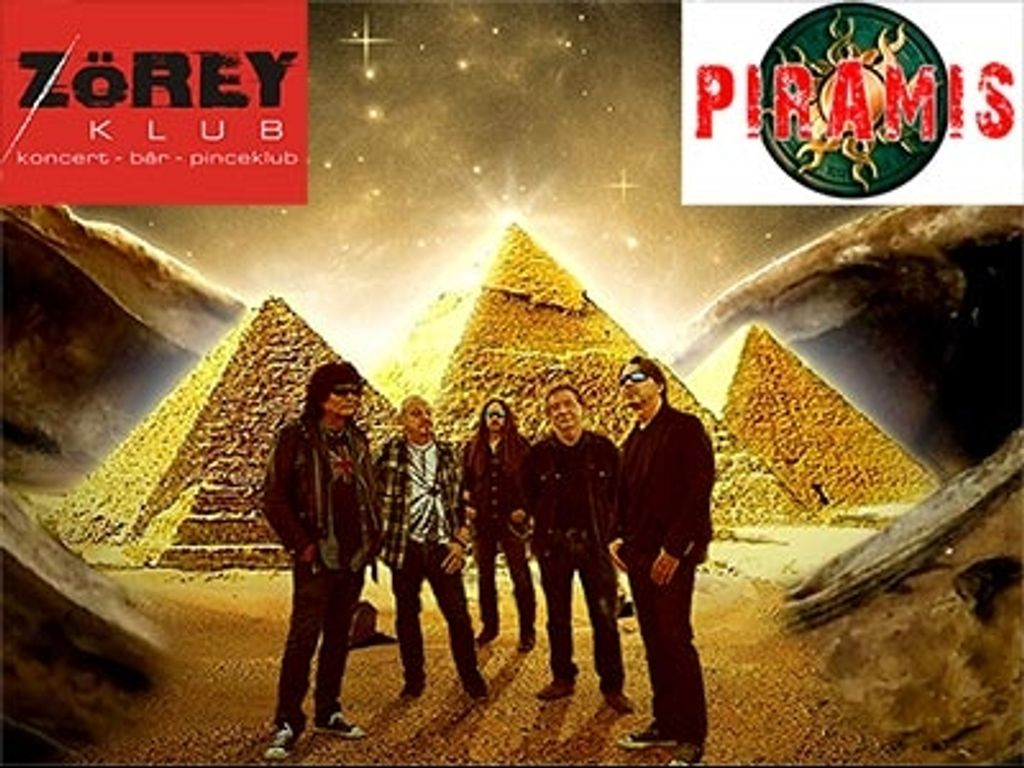 PIramis zenekar a ZÖREY-ben
