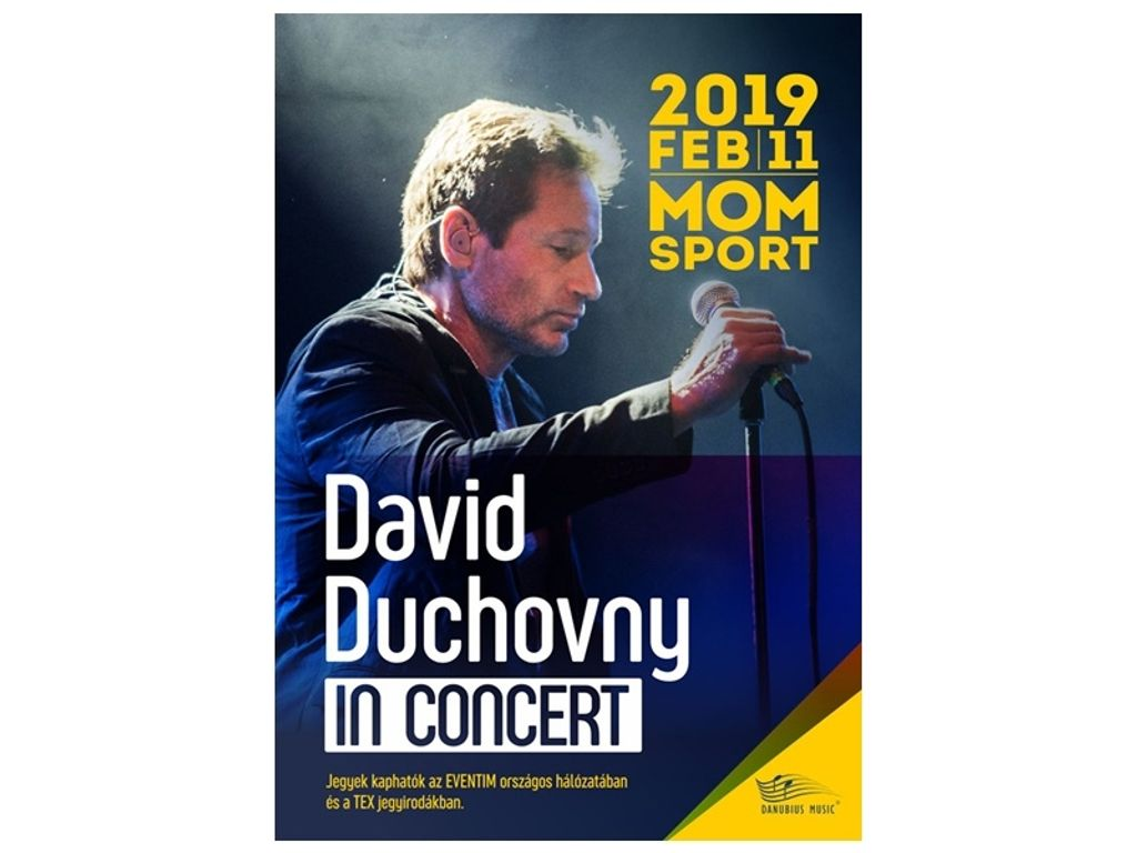 DAVID DUCHOVNY koncert