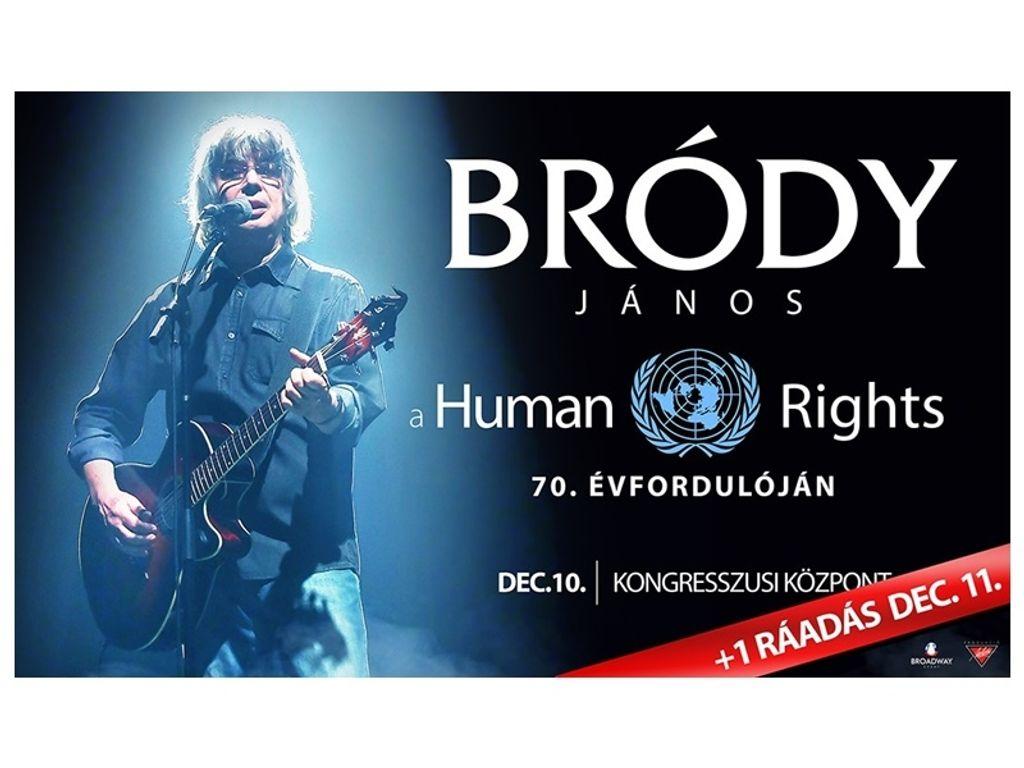 BRÓDY JÁNOS koncert - a Human Rights 70. évfordulója tiszteletére - ráadás