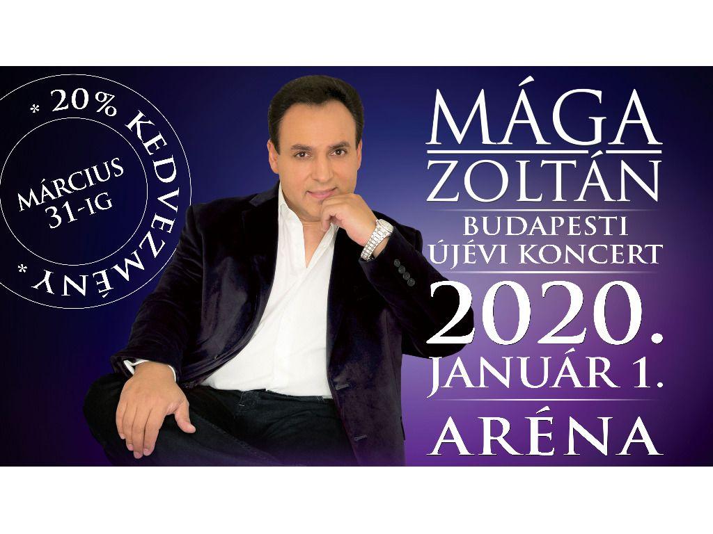 MÁGA ZOLTÁN Budapesti Újévi Koncert 2020