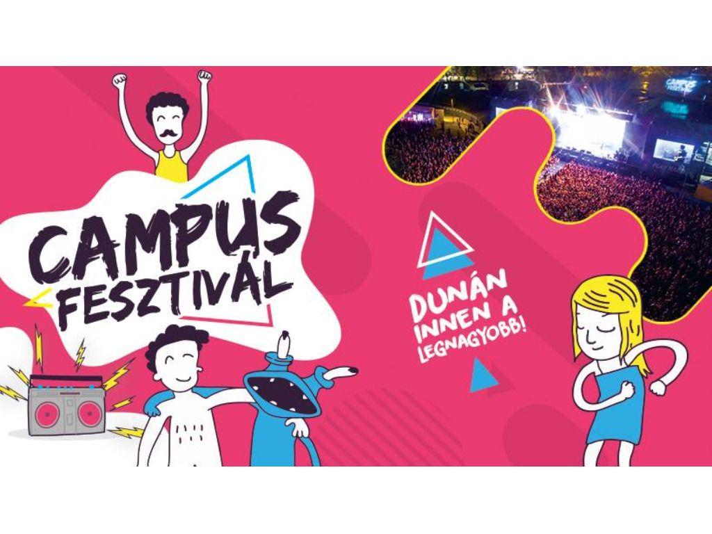 Campus Fesztivál 2019 VIP napijegy (2. nap)