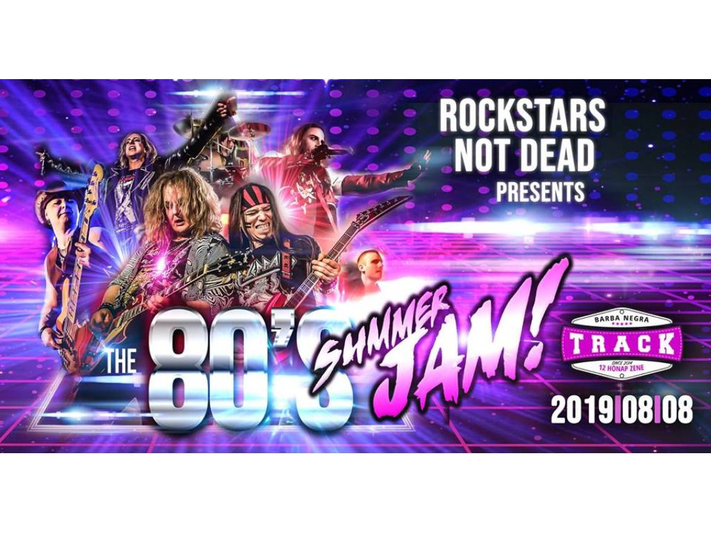 Rockstars Not Dead - 80's Rock & Glam Metal Show