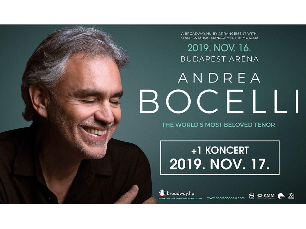 ANDREA BOCELLI - ráadás koncert