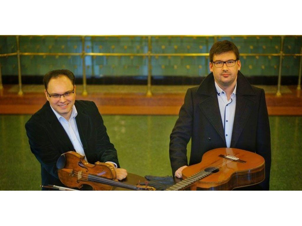 Nyári László és Környei Miklós kamaraestje - Paganini gitárra és hegedűre