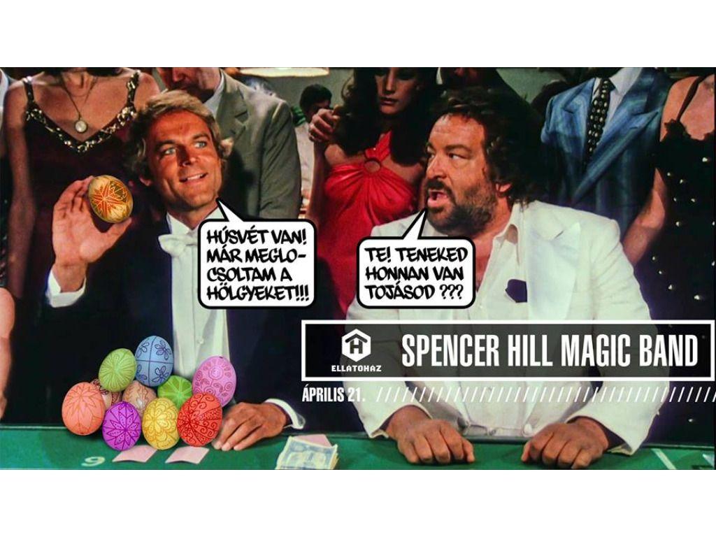 Spencer Hill Magic Band - ELLÁTÓház