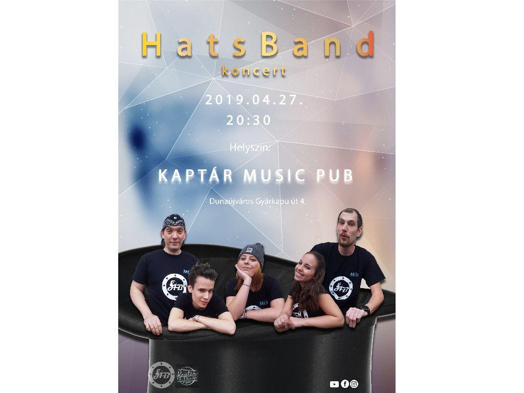 HatsBand koncert...