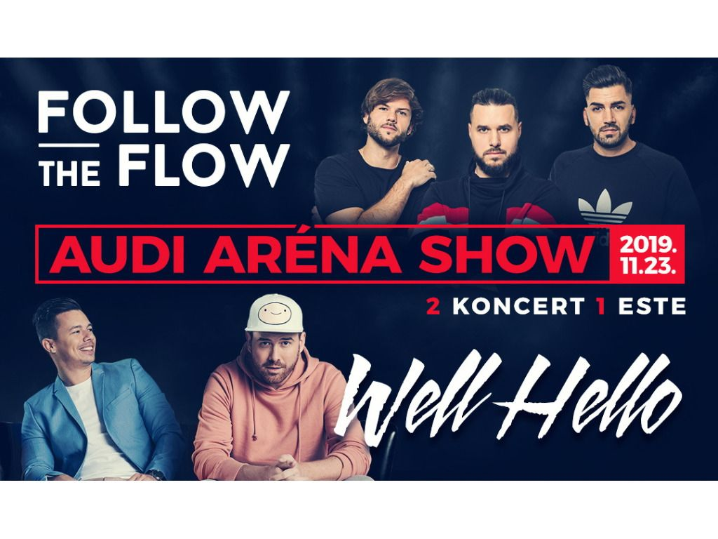 WELLHELLO • FOLLOW THE FLOW • AUDI ARÉNA SHOW