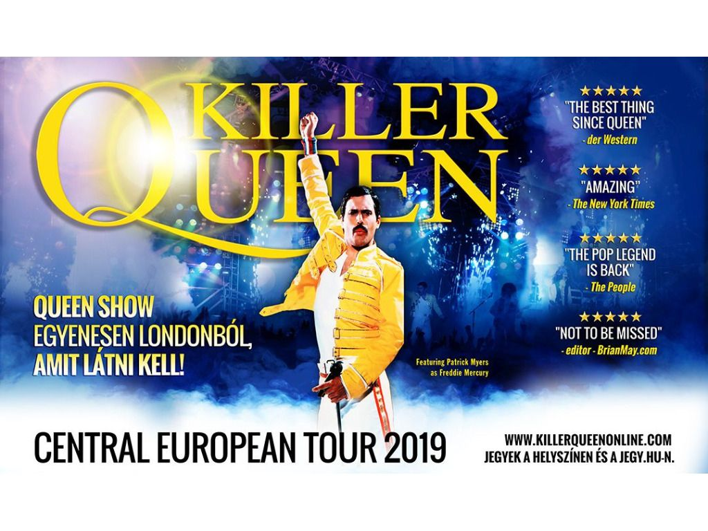 Killer Queen - Queen Show from London