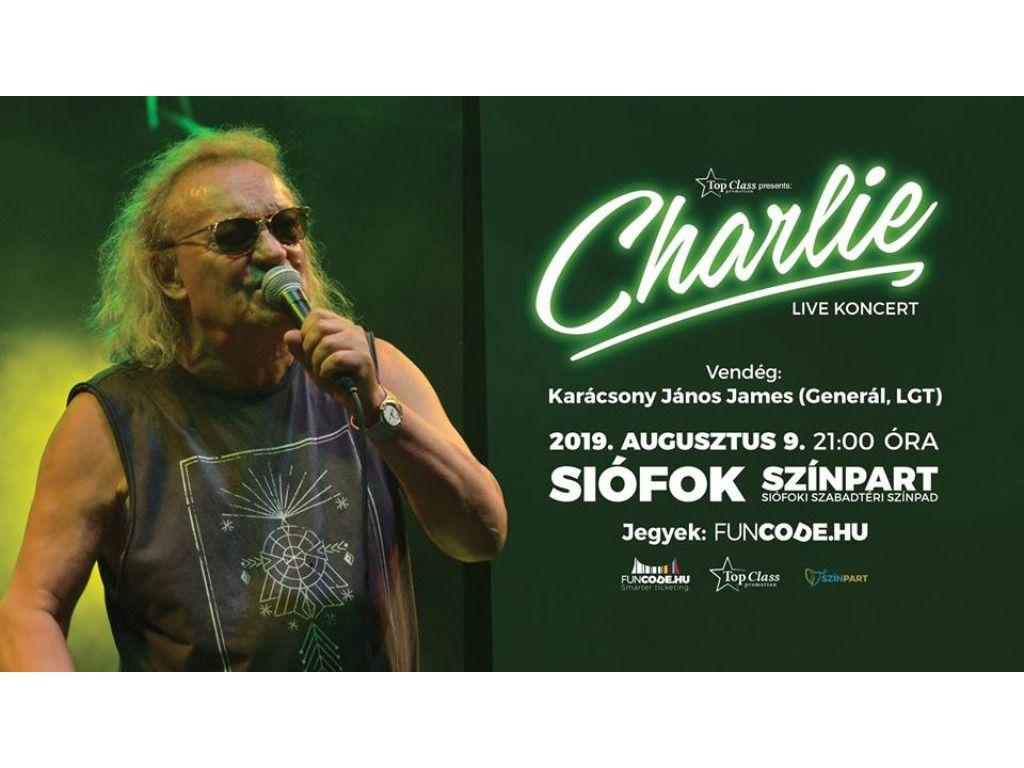 Charlie koncert / vendég:...
