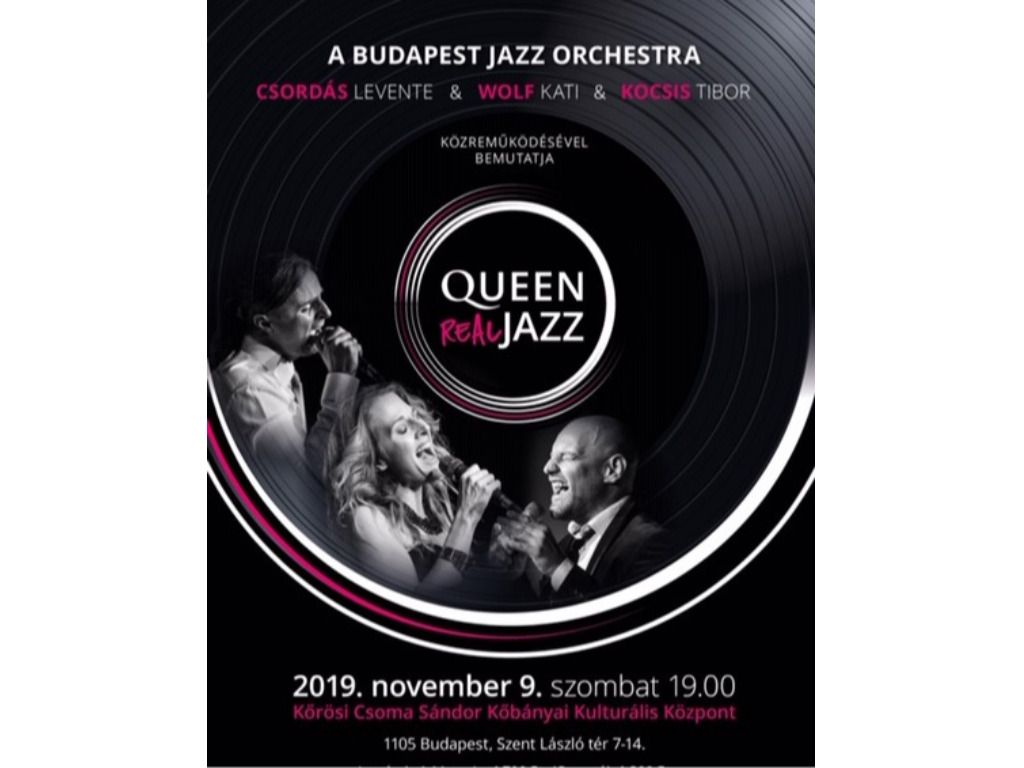 Budapest Jazz Orchestra - Queen Real Jazz