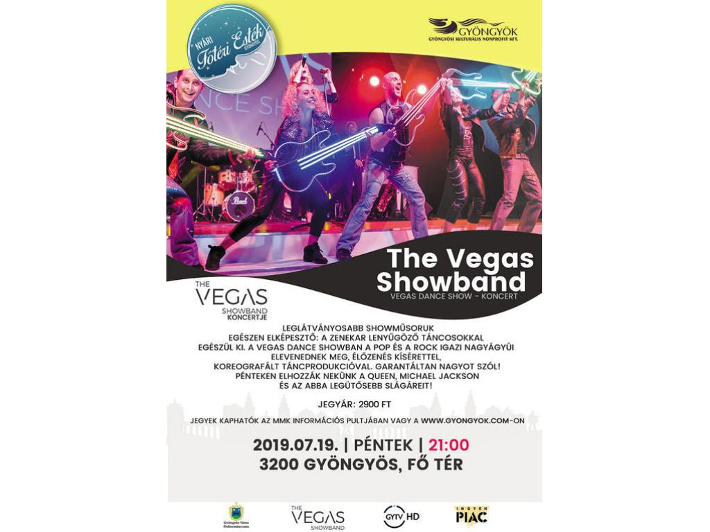 The Vegas Showband koncert