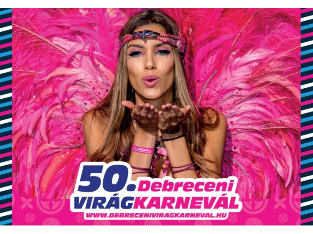 50. Debreceni Virágkarnevál - TEVA lelátó - Nagyerdei körút