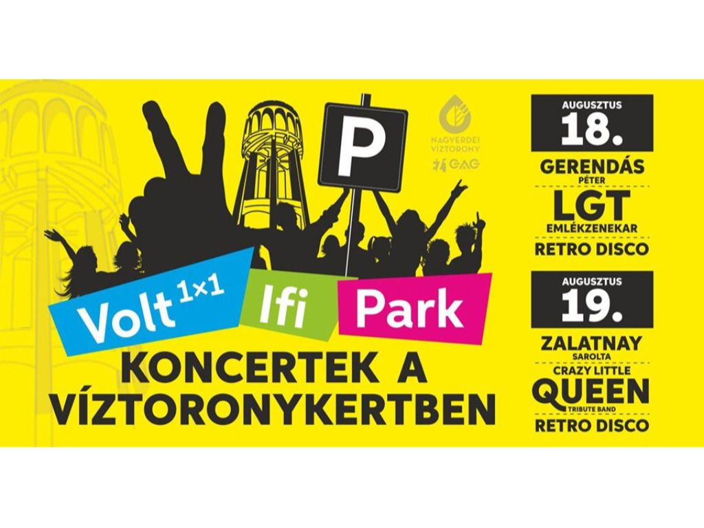 Volt 1x1 Ifipark - Zalatnay Sarolta, Crazy Little Queen