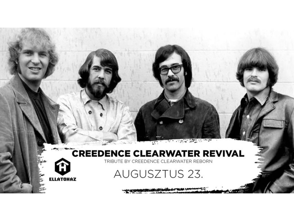 Creedence Clearwater Revival tribute - ELLÁTÓház
