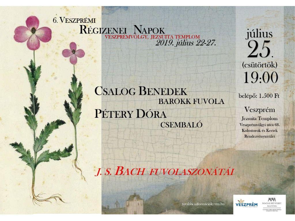 Bach fuvolaszonáták