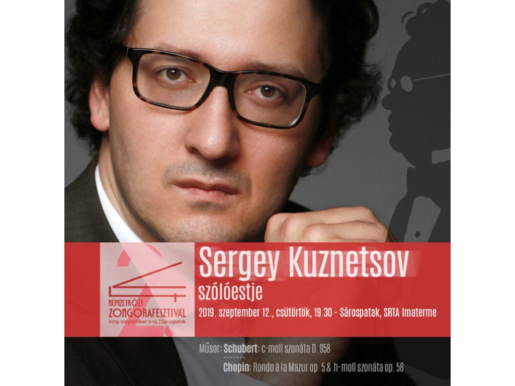 Sergey Kuznetsov szólóestje