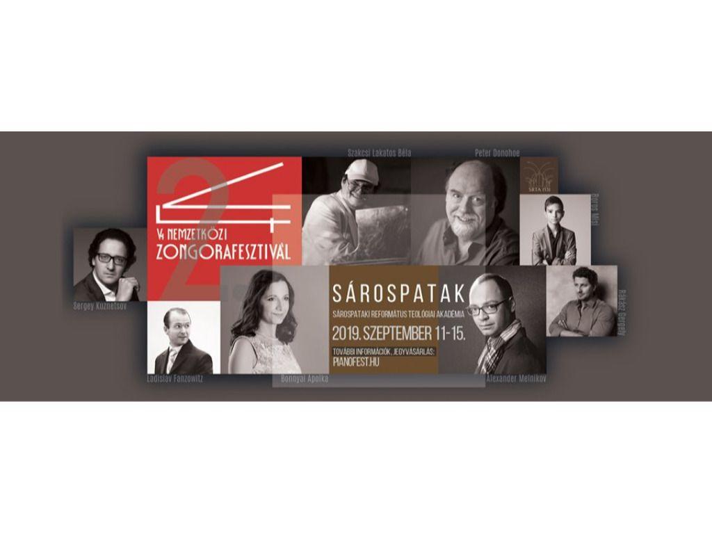 V4 Nemzetközi Zongorafesztivál - Heti bérlet