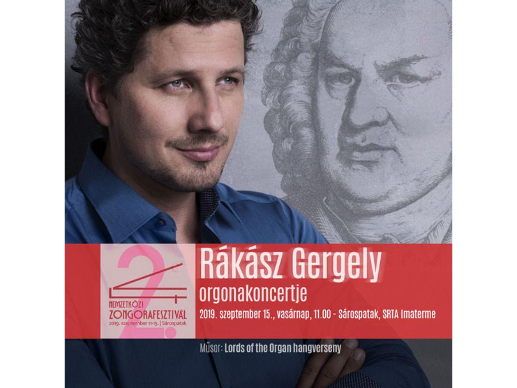 V4 Zongorafesztivál - Rákász Gergely orgonakoncertje
