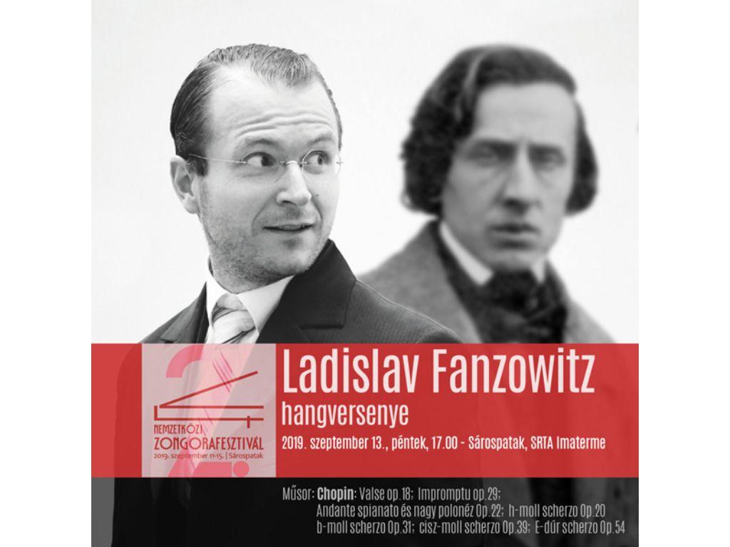 V4 Zongorafesztivál - Ladislav Fanzowitz hangversenye