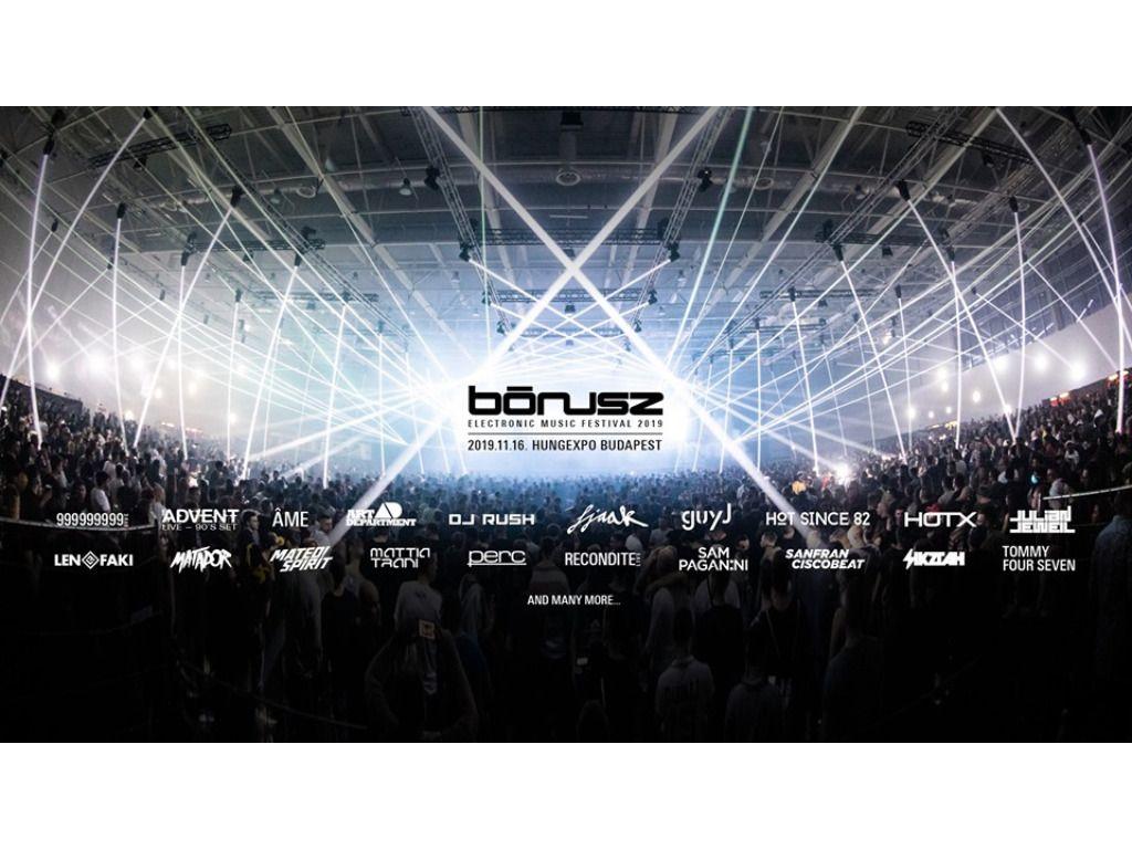 BÓNUSZ Electronic Music Festival 2019  - VIP