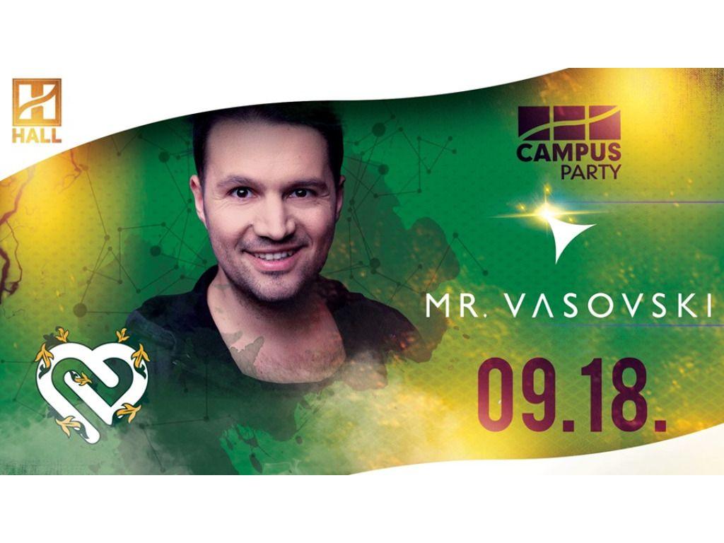 CAMPUS Party-Vasovski // DE hallgatói