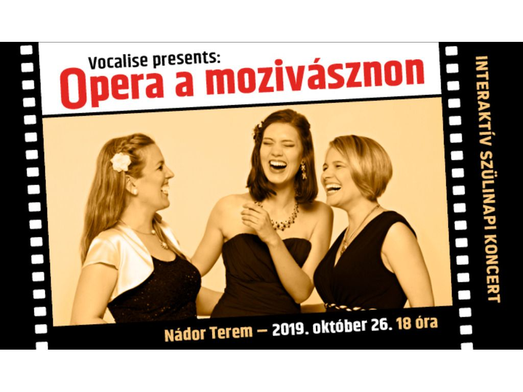Vocalise presents: Opera a...