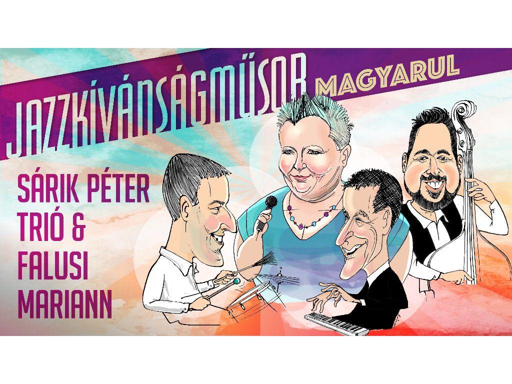 Sárik Péter Trió & Falusi Mariann - Nemcsak Jazz Klub