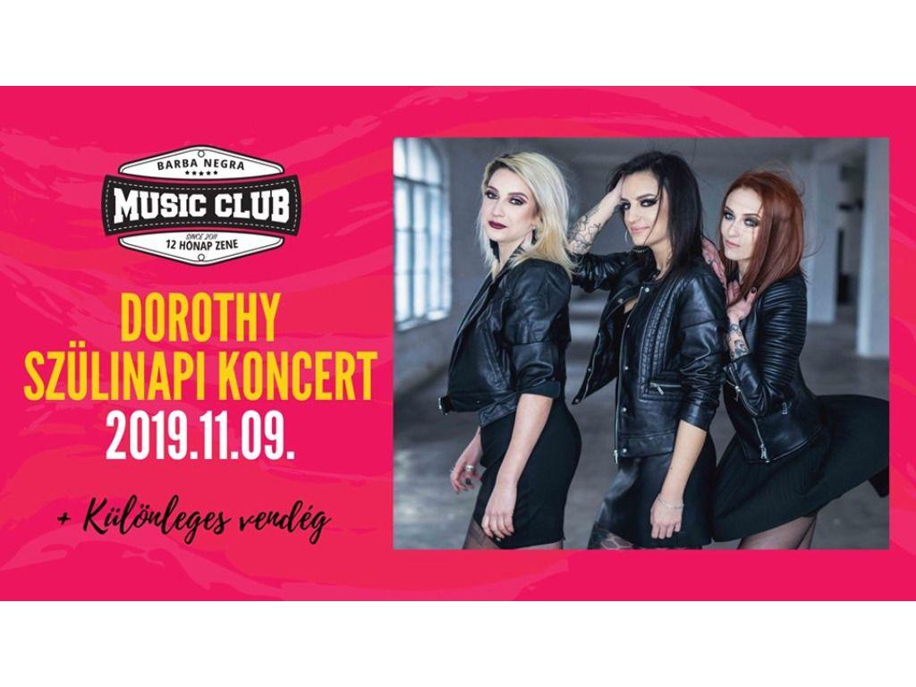 DOROTHY - Szülinapi koncert