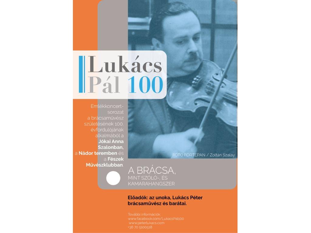Lukács Pál 100 sorozat 1.