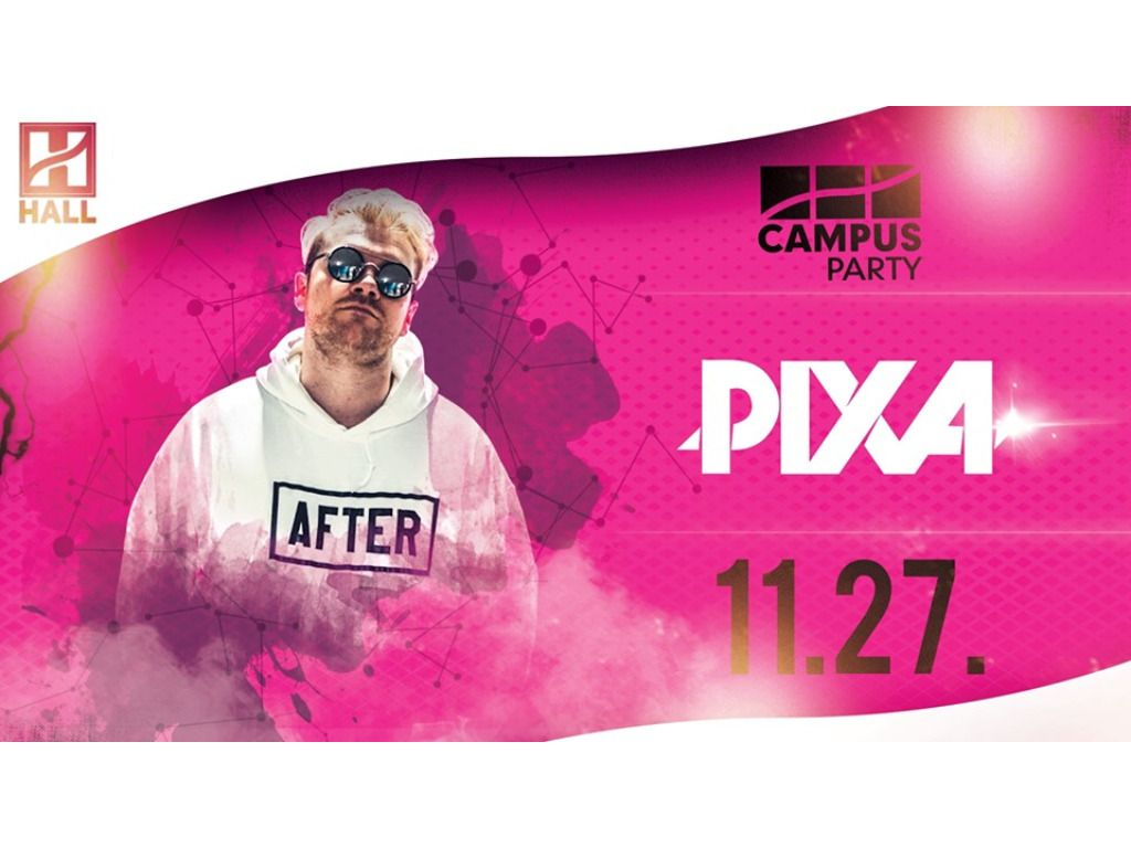 CAMPUS Party - Pixa // DE hallgatói