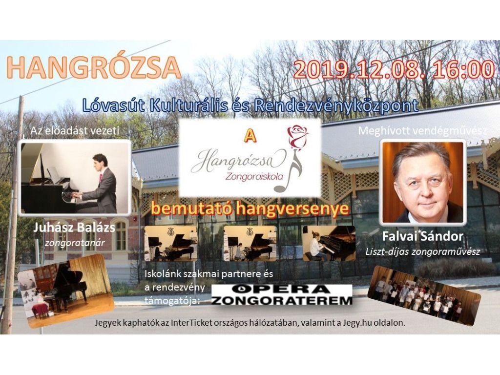 HANGRÓZSA - A Hangrózsa Zongoraiskola bemutató hangversenye