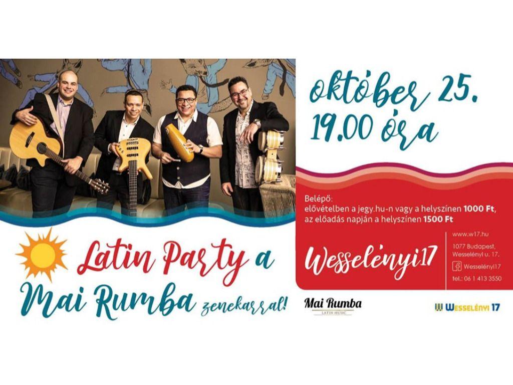 Latin Party a Mai Rumba Zenekarral